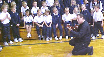 Ronald Radford and his school performance